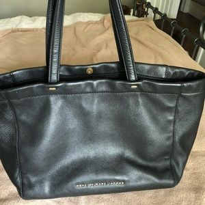 Black leather medium MARC by Marc Jacobs tote